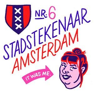 stadstekenaar amsterdam